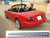 Mazda mx5, coche rojo, con 1600cc 3
