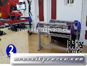 Plotter de corte Refine CC1350II de 120 cm con LAPOS 3