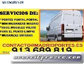 Mudanzas en españa#913-689819#portes en Canillejas-Usera