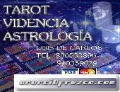 PROMOCION VISA 8 € TAROT LUIS DE CARLOS