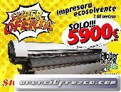 Impresora ecosolvente de gran formato StormJet SJ7160 nueva con garantia en españa