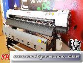 Impresora ecosolvente de gran formato StormJet SJ7160 nueva con garantia en españa 5