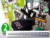 OPORTUNIDAD prensa termica eco38 personalizar camisetas con vinilo transfer sublimacion 2