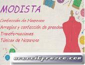 Modista/Costurera