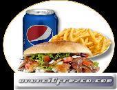 menús de kebabs  y Durum  a domicilio