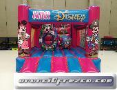 castillo hinchable mini disney - icc business