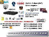 OFERTA KIT VIDEOVIGILANCIA 94º HD INTERIOR