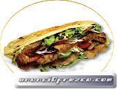 Extenso menú de Kebabs