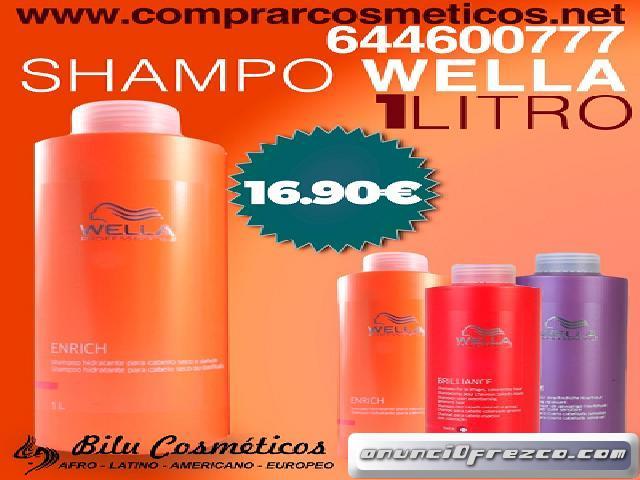 Para la salud de tu cabellera  Shampoo wella