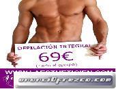 Depilación Masculina Madrid cera  tibia