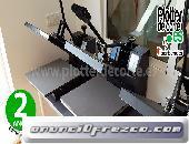 Prensa termica PA38 plancha transfer profesional economica