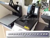 Prensa termica PA38 plancha transfer profesional economica 4