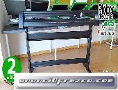 Refine EH 1351 plotter de corte nuevo con 135 cm camisetas rotulos vinilos