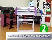 Nuevo plotter de corte Refine CC 720 II robusto profesional 72 cm