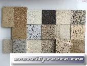 piedras de granito y polbo de marmol para pisos y mesones y escaleras
