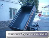 Remolque Basculante 2200x1400x520 de dos ejes con freno 2