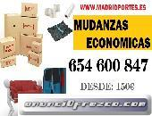 MOVIMIENTOS INTERNOS X HORAS 6546OO847 MUDANZAS MORATALAZ