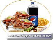 .Prueba el buen sabor de kebab pak