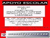 CURSO DE APOYO ESCOLAR