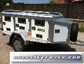 Thalman Quality,Remolque térmico de aluminio para perros
