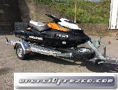 Remolque mixto de aluminio para moto de agua/quad, Thalman Trailers