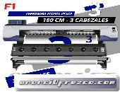 Impresora ecosolvente de 3 cabezales plotter de impresion OFERTA LIMITADA