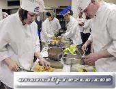 Busca de camarera, camarero y un cocinero