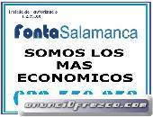 Fontanero en Salamanca económico