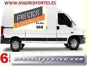 TRANSPORTES AUTORIZADOS EN HORTALEZA 6546OO847 PORTES 30€