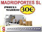 CONTACTENOS(65-46OO847)PORTES BARATOS MADRID Y ALREDEODRES