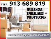 SERVICIO DE TRANSPORTES Y MUDANZAS:65/460/0847:EN MAJADAHONDA