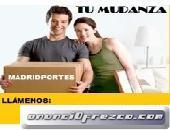 TRANSPORTISTAS +VEHICULO DESDE 30€ 9136(89)819 PORTES LAS ROZAS