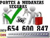 MINIMUDANZAS EN ALCALA DE HENARES 654 6OO 847 PORTES MADRID