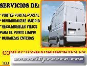 MUDANZAS ECONOMICAS FUENLABRADA 6546OO847 FLETES DE MUEBLES
