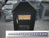 Estufa con horno doble puerta 97X52X45