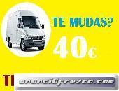 FLETES URGENTES DESDE 40€(65//46OO847)PORTES ALCOBENDAS