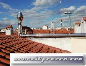 Reforma tubo salida de humos EI30 en chimeneas en Madrid para evitar caída de partículas. Evitar pro