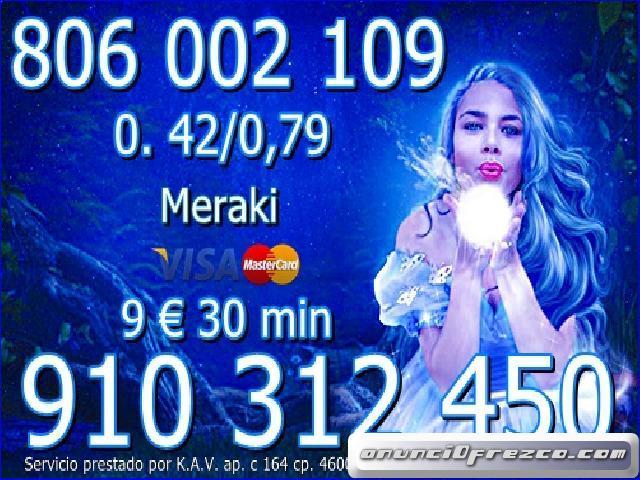 9 € 30 min. TAROT FIABLE Y ECONÓMICO 910 31 2450  /  806 002 109 -0,42/0,79 cm €