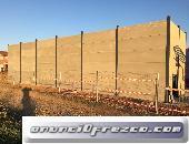 Venta de placas alveolares en Guadalajara para el cerramiento de naves.