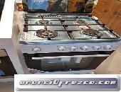 Cocina nueva de gas con horno