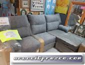 Sofa chaiselongue nuevo Royal