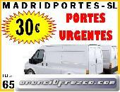 TARIFAS EN PORTES MADRID CAPITAL DESDE 30€((91)368-9819))