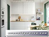 Cocina con muebles de Ikea