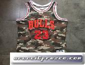 Camisetas NBA baratas Camuflaje #23 Michael Jordan