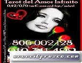 VIDENCIA Y TAROT DEL AMOR Visa 4 € 15 min. 910311422-806002128