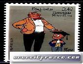 Cambio sellos de Bélgica 3x1 3