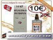 Perfume mujer Nº 47 BOSSES MUJER 100ML marca blanca equivalenteribe un titulo para tu anuncio...