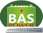 BAS POWER - BATERÍAS Y PLACAS SOLARES