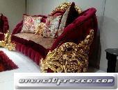 Maestro restaurador de muebles Luis 15 en pan de oro en Guayaquil Guayas Ecuador 2019