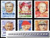 Compro sellos de Alemania y Francia al peso 5
